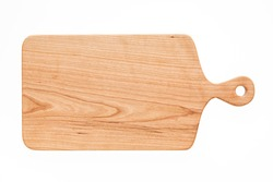 Cherry wood cutting board, handmade wood cutting board