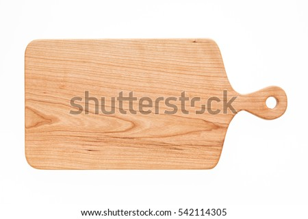 Cherry wood cutting board, handmade wood cutting board #542114305