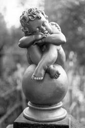 cherub at the cemetery