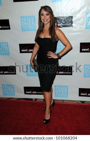 "Cheryl Burke  at the ""Peace Over Violence"" 39th Annual Humanitarian Awards, Beverly Hills Hotel, Beverly Hills, CA. 10-29-10"