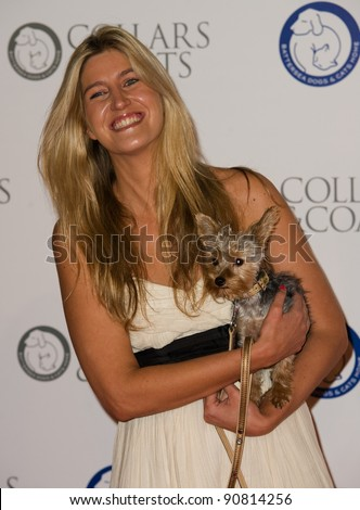 Cheska Hull at Battersea Evolution for the 2011 Collars & Coats Ball on behalf of the Battersea Dogs Home. London 11th Nov 2011 Pics by Simon Burchell / Featureflash
