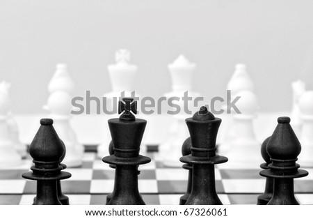 Chess Black side