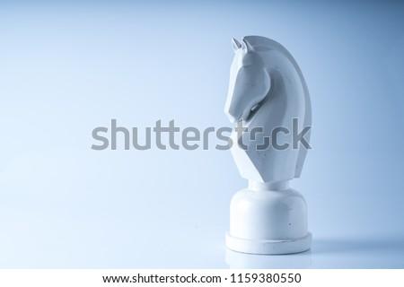 Chess business concept, leader teamwork & success Foto stock ©
