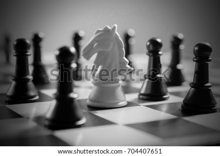 chess concept #704407651