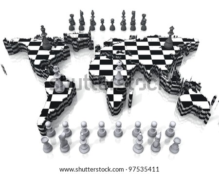 chess earth map