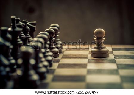 Stock Photo chess game