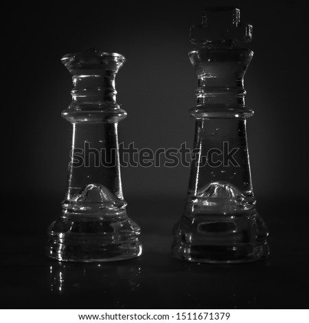 Chess is a game played between two opponents on opposite sides of a board containing 64 squares of alternating colors. Each player has 16 pieces: 1 king, 1 queen, 2 rooks, 2 bishops, 2 knights, and 8  #1511671379