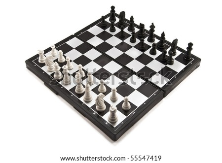 chess isolated on a white background