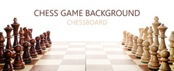 chess on white background