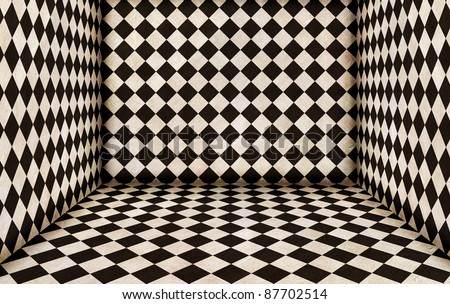 chess room - stock photo