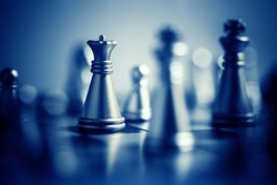 Chess. Win concept.