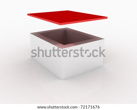 chest whit red top