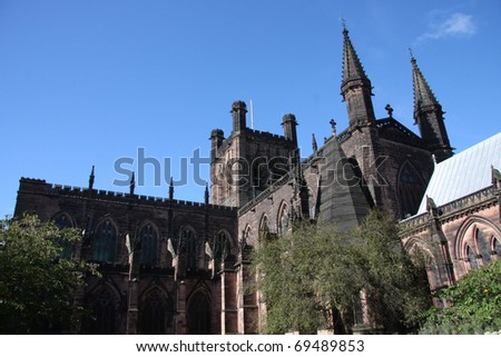 Chester Cathedral Cheshire England UK
