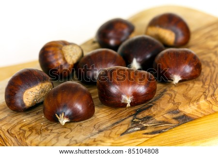 Chestnuts on the Wood