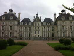 Cheverny castle in Loire valley