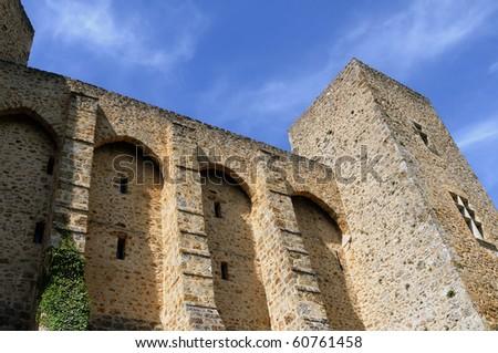 Chevreuse, chateau de la Madeleine in France