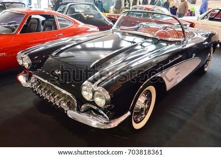 chevrolet corvette black  at...
