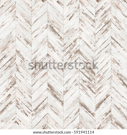 Chevron old painted parquet seamless floor texture #591941114