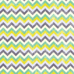 Chevron Pattern - Digital Paper - Green, Yellow, Purple