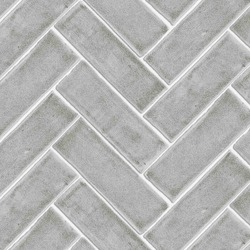 Chevron tile texture with crackle finish in grey
