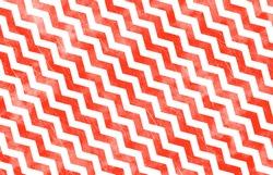 Chevron / Zig Zag Pattern - Orange Grunge