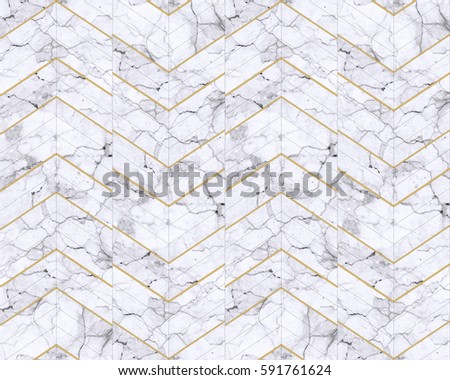 Chevron zigzag marble  white patterned background #591761624