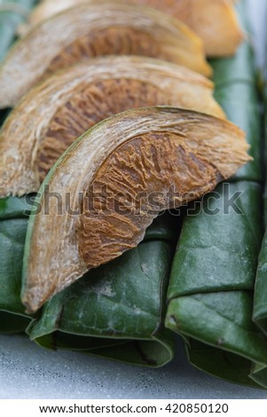 Chewing betel nut and betel leaf #420850120