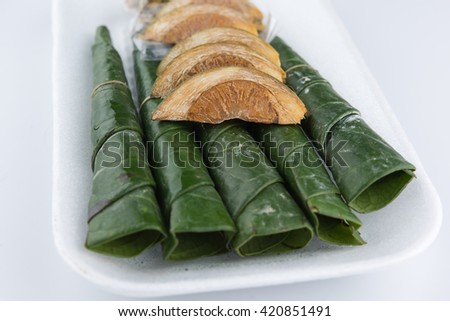 Chewing betel nut and betel leaf #420851491