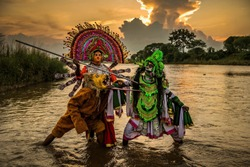 Chhau dance, also spelled as Chau or Chhaau, is a semi classical Indian dance with martial, tribal and folk traditions, with origins in eastern India