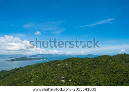 Chi Ma Wan Peninsula, Lantau Island, Hong Kong. (July 2021) Stok fotoğraf ©