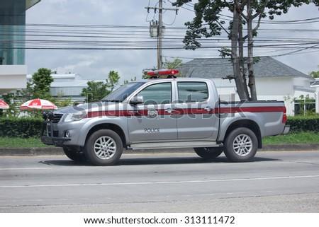 Chiangmai Thailand August 13 2015 Private Pickup Car Toyota