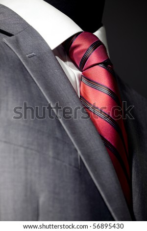 Chic and stylish suit for businessman