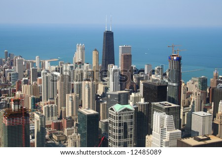 Chicago Aerial View #12485089