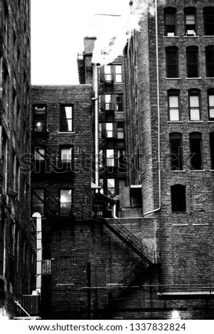 Chicago Alley Street #1337832824