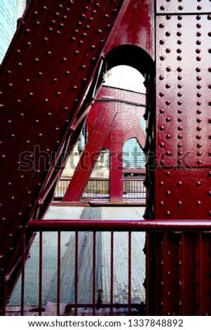 Chicago Bridge Downtown #1337848892