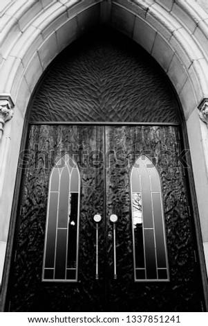 Chicago Church Detail #1337851241