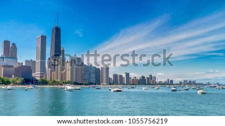 Chicago downtown skyline #1055756219