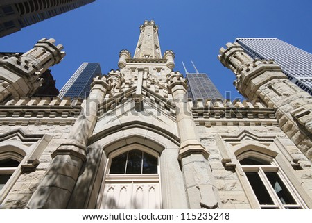 Chicago Historic Water Tower