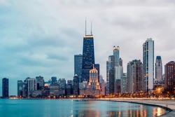 Chicago Northside Skyline