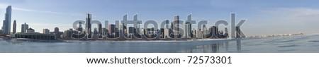 Chicago Panorama - stock photo
