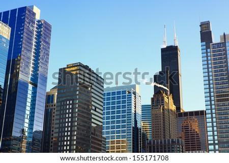 chicago's urban skyscrapers  il ...