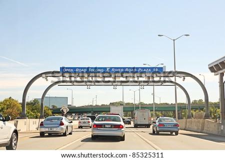 Chicago-Sept 21: Traffic Stalls On Highway 90 During Rush ...