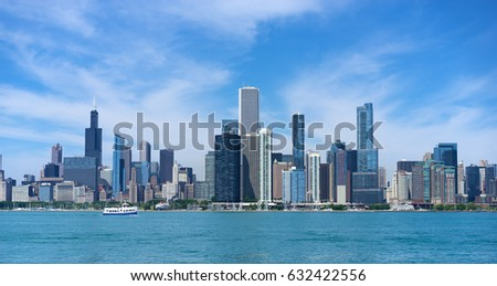 Chicago Skyline #632422556