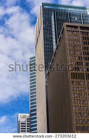 d7c7cfedee2c Chicago. View to skyscrapers
