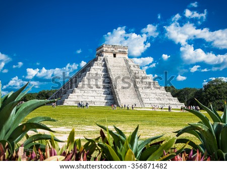 Shutterstock Chichen Itza, one of the most visited archaeological sites in Mexico. About 1.2 million tourists visit the ruins every year.