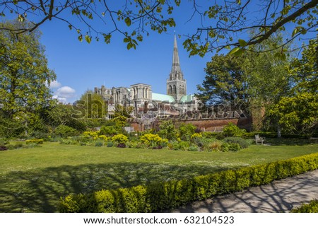 chichester cathedral viewed...