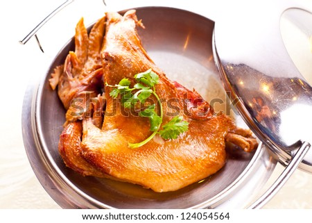 Chicken, a traditional Chinese food