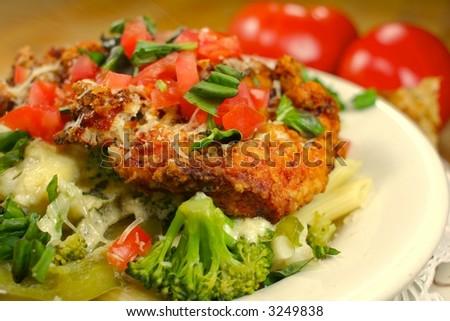 Chicken Broccoli Penne Pasta Dinner