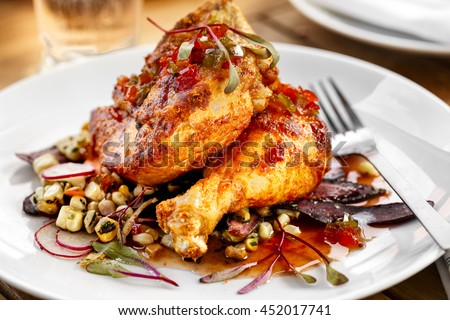 Chicken Entree with Vegetables