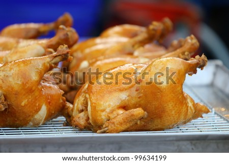 Chicken grilled